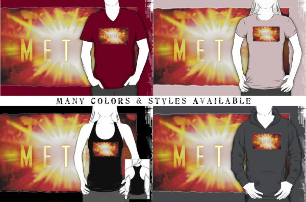 Metta Burst - Shirts in Many Colors & Styles