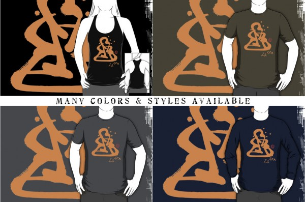 Za Zen - Orange Awakening - Shirts in Many Colors & Styles