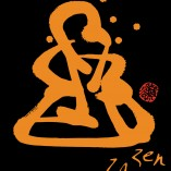 Za Zen - Orange Awakening - On Black